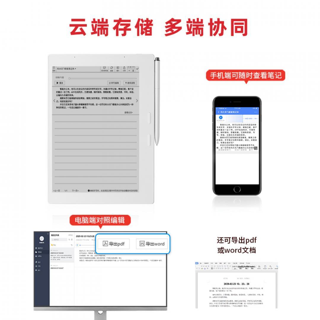 讯飞智能笔记本T1【A.I.办...