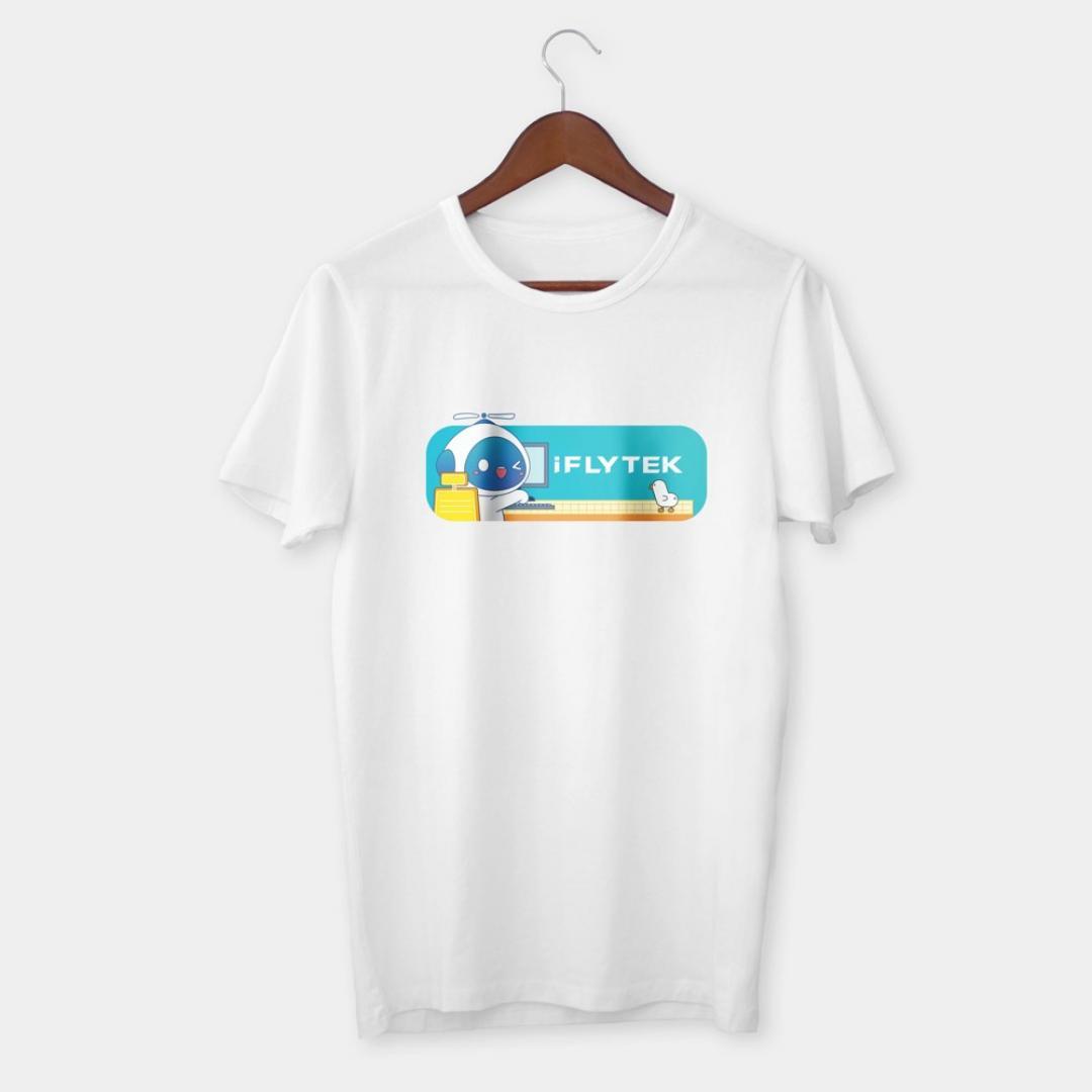 讯飞萌宠CP系列文化衫:办公款