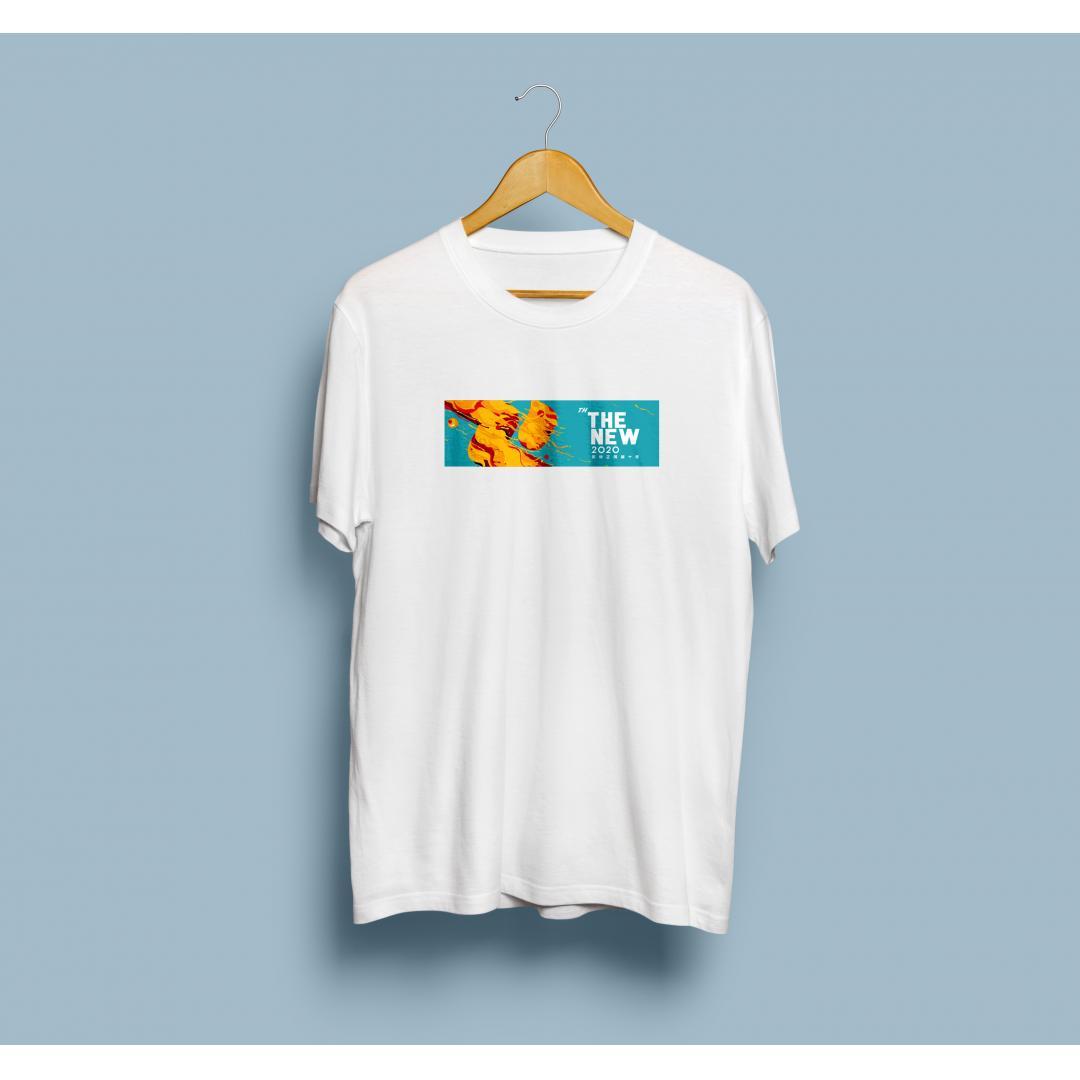 讯飞21周年文化衫:白色款