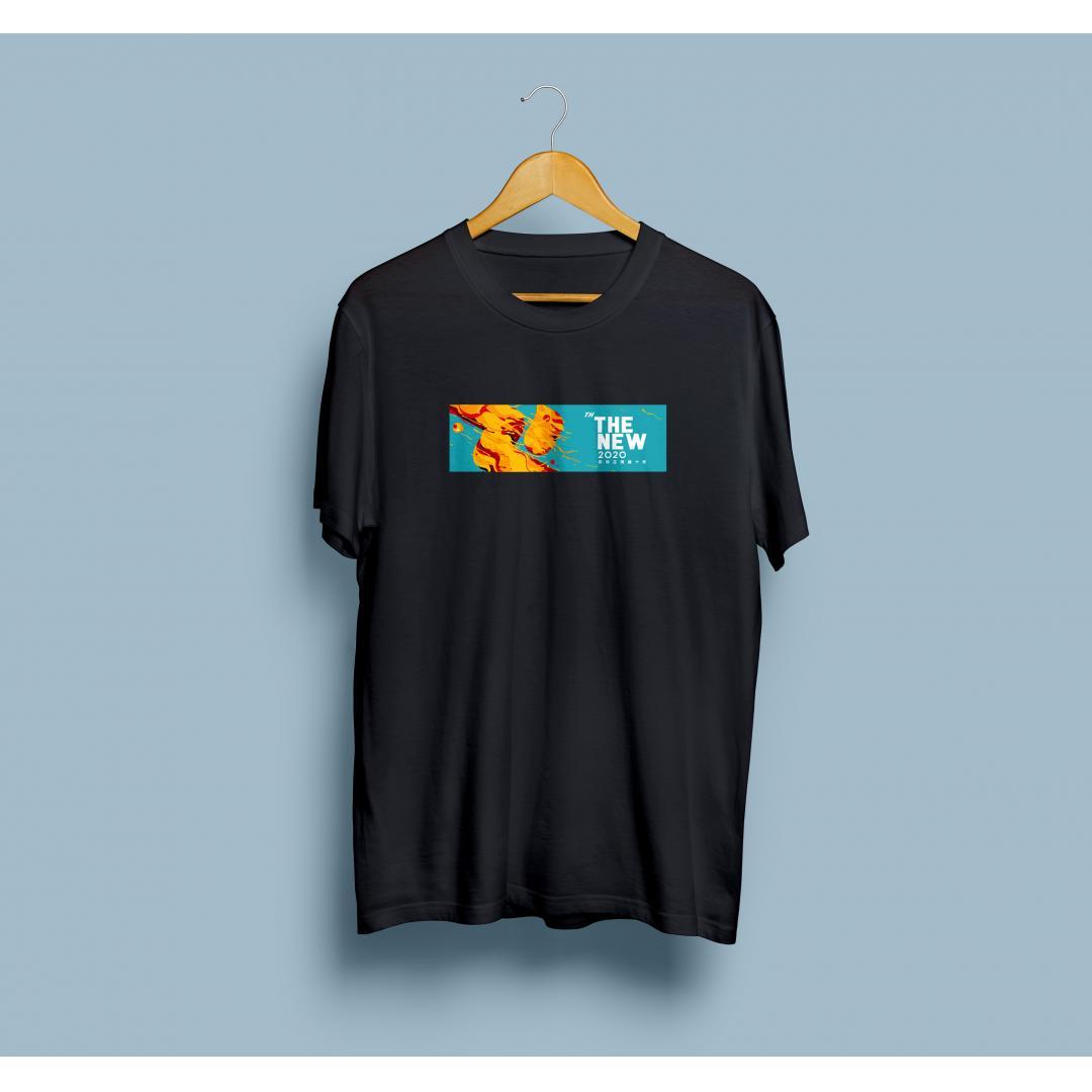 讯飞21周年文化衫:黑色款